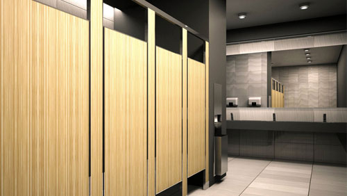 Toilet Partitions American Door Hardware - Bobrick bathroom partitions