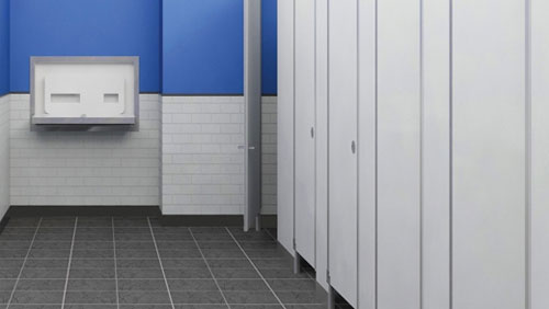 Bradley Bathroom Partitions Property toilet partitions | american door & hardware
